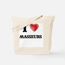 I love Masseurs Tote Bag