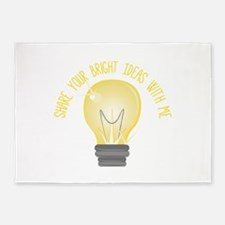 Bright Ideas 5'x7'Area Rug
