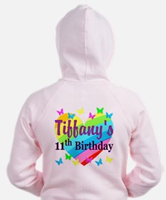 PERSONALIZED 11TH Zip Hoodie