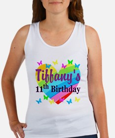 PERSONALIZED 11TH Women's Tank Top