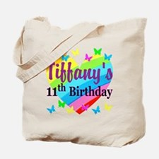 PERSONALIZED 11TH Tote Bag