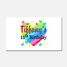 PERSONALIZED 11TH Car Magnet 20 x 12