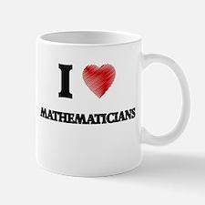 I love Mathematicians Mugs