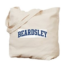 BEARDSLEY design (blue) Tote Bag