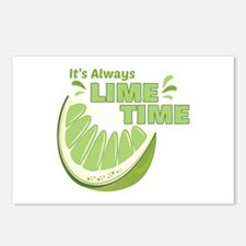Lime Time Postcards (Package of 8)