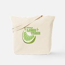 Lime Time Tote Bag