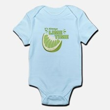 Lime Time Body Suit
