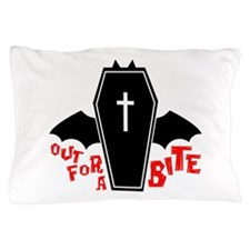 Out For Bite Pillow Case