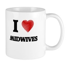 I love Midwives Mugs
