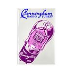 Cunningham Tubes Rectangle Magnet