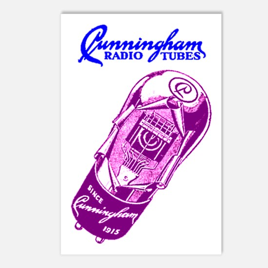 Cunningham Tubes Postcards (Package of 8)