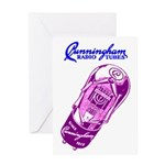 Cunningham Tubes Greeting Card