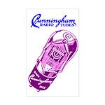 Cunningham Tubes Rectangle Sticker