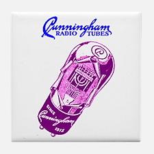 Cunningham Tubes Tile Coaster