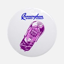 Cunningham Tubes Ornament (Round)