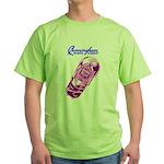 Cunningham Tubes Green T-Shirt