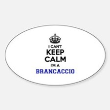 BRANCACCIO I cant keeep calm Decal