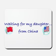 Waiting on my daughter...from Mousepad