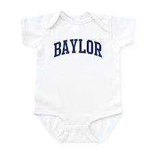 BAYLOR design (blue) Infant Bodysuit