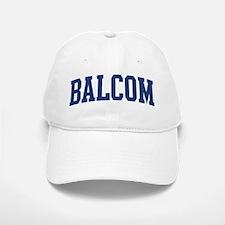 BALCOM design (blue) Baseball Baseball Cap