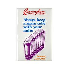 Cunningham Tubes Rectangle Magnet (10 pack)
