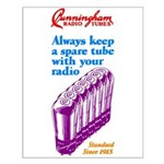 Cunningham Tubes Small Poster