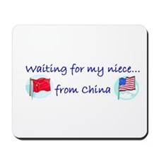 Waiting on my niece... from C Mousepad