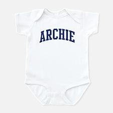 ARCHIE design (blue) Infant Bodysuit