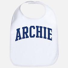 ARCHIE design (blue) Bib