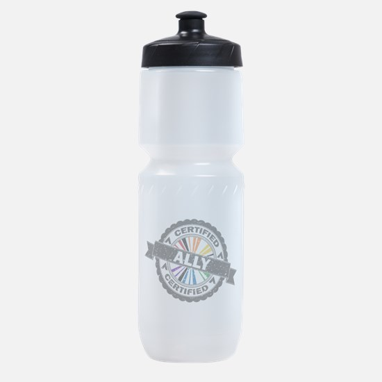 Certified LGBT Ally Stamp Sports Bottle