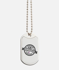 Certified Demisexual Stamp Dog Tags