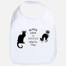 BLACK CATS ARE MAGICAL! Bib