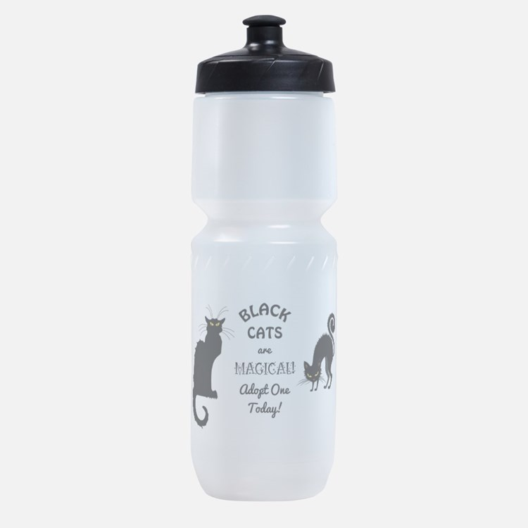BLACK CATS ARE MAGICAL! Sports Bottle