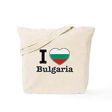 I love Bulgaria Tote Bag