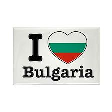 I love Bulgaria Rectangle Magnet