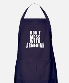 Don't Mess With Armenian Apron (dark)