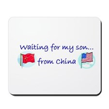 Waiting for my son...from Chi Mousepad
