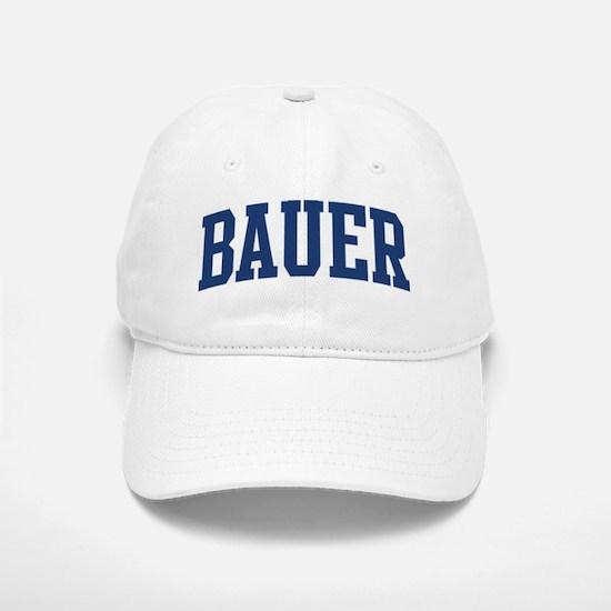 BAUER design (blue) Baseball Baseball Cap