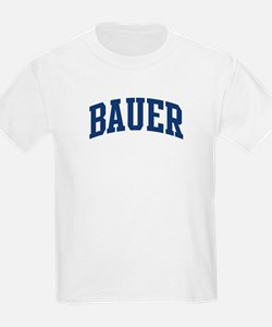 BAUER design (blue) T-Shirt