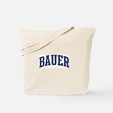 BAUER design (blue) Tote Bag