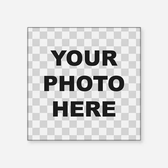 Your Photo Here Sticker
