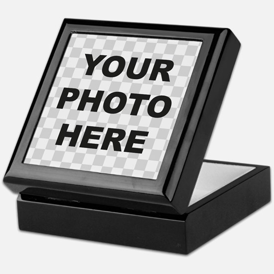 Your Photo Here Keepsake Box