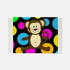Happy Monkey on Multicolor Magnets