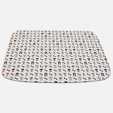 Cute Dog themed Bathmat