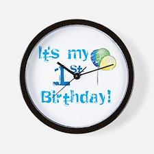 It's My 1st Birthday Wall Clock