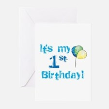 It's My 1st Birthday Greeting Cards (Pk of 10)