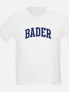 BADER design (blue) T-Shirt