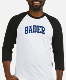 BADER design (blue) Baseball Jersey