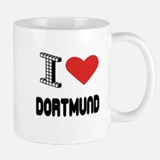 I Love Dortmund City Mug