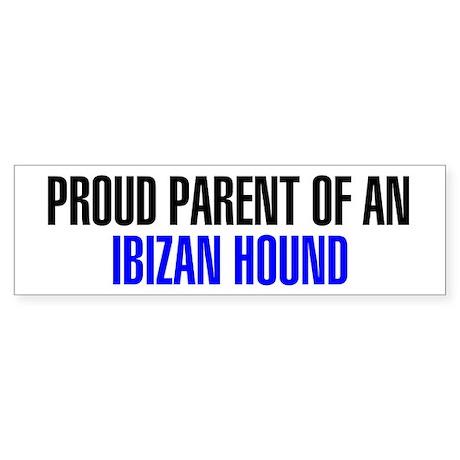 Proud Parent of an Ibizan Hound Sticker